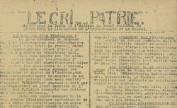 """Accéder à la page """"Cri de la Patrie (Le) (Ardèche, Drôme)"""""""