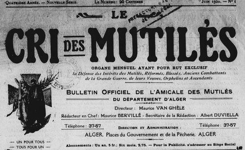 """Accéder à la page """"Cri des mutilés (Le)"""""""