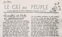 """Accéder à la page """"Cri du peuple (Le) (Loire)"""""""
