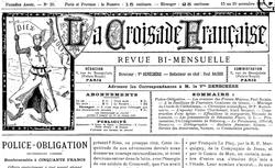 """Accéder à la page """"Croisade française (La)"""""""