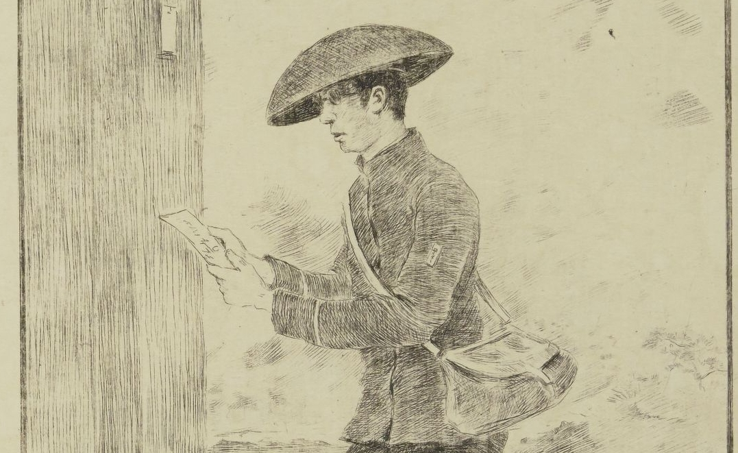 Georges-Ferdinand Bigot, graveur. Croquis japonais, 1886.