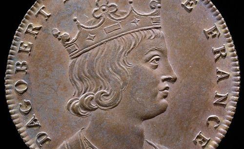 Jean Dassier (médailleur, 1676-1763), Histoire chronologique des rois de France.  Médaille 18
