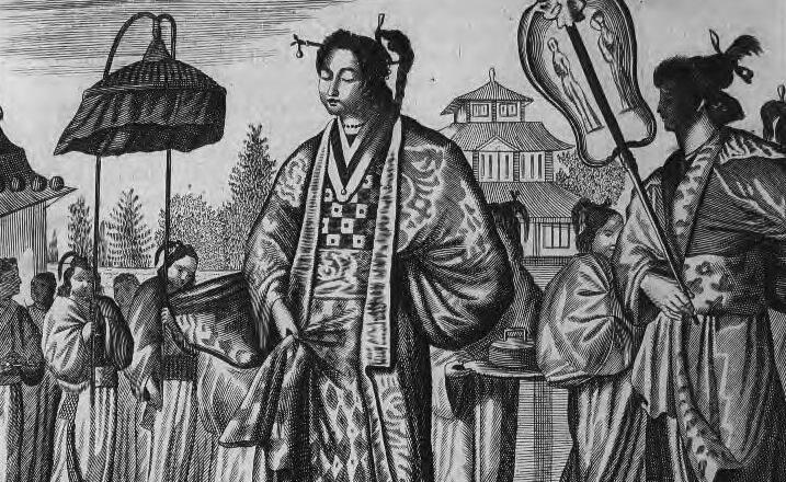 Arnoldus Montanus, Illustrations de Ambassades mémorables de la Compagnie des Indes orientales des Provinces Unies vers les empereurs du Japon, 1680