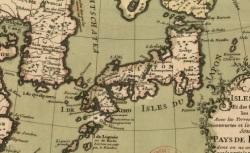 Carte des isles du Japon et des costes de la Chine les plus voisines..., 1735, CPL GE DD-2987 (7408)