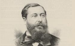 Léo Delibes, par Lemaire, d'après une photogr. de Charles Gallot, 1891 - source : gallica.bnf.fr / BnF