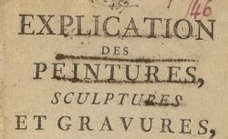 """Accéder à la page """"Recueils de livrets d'exposition et textes divers, 1773-1804"""""""