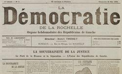 """Accéder à la page """"Démocratie de la Charente-Inférieure (La)"""""""