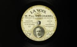 """Accéder à la page """"Paul Deschanel, Président de la Chambre des députés. Discours prononcé à l'Institut le 25 octobre 1916."""""""