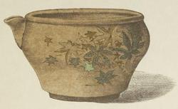 """""""Bol en poterie"""". Le Japon artistique n°17 (septembre 1889). RESERVE 4-YA5-1. Vue 158"""