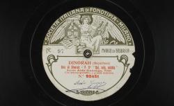 "Dinorah. Aria di Dinorah : ""Qui, sola, soletta"" ; Giacomo Meyerbeer, comp. ; Aida Gonzaga, soprano ; acc. d'orchestre - source : gallica.bnf.fr / BnF"