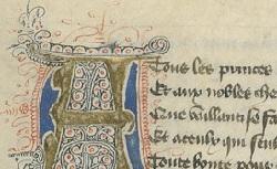 Figure de l'humanisme français: Christine de Pizan a rédigé des poèmes, des traités philosophiques, politiques, et militaires  Ditdelarose_fr.12779