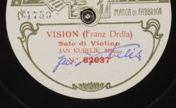 Vision / Franz Drdla, comp. ; Jan Kubelik, solo de violon ; acc. de piano - source : gallica.bnf.fr / BnF