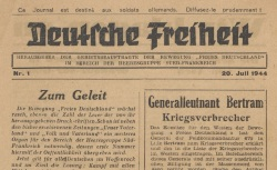 "Accéder à la page ""Deutsche Freiheit (France sud)"""