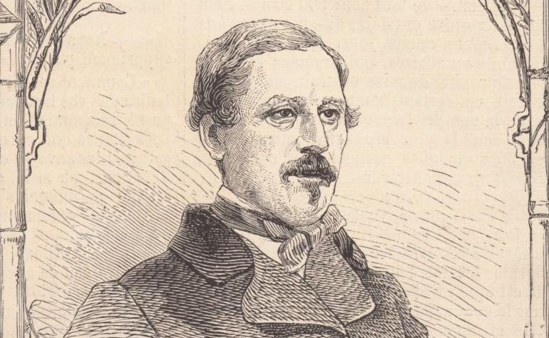 """""""M. Duchesne de Bellecourt, consul général..."""". Le Monde illustré, 01/06/1861. FOL-LC2-2943. p. 240"""