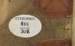 Ethiopien 616 Griaule 308