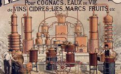Alambics pour cognacs... eaux de vie... Deroy fils ainé [affiche]