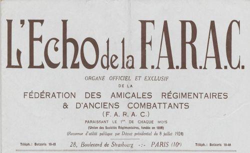 "Accéder à la page ""Echo de la F.A.R.A.C. (L')"""