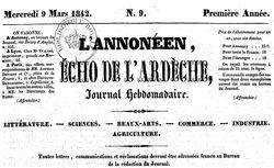 """Accéder à la page """"Ardèche"""""""