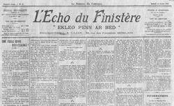 """Accéder à la page """"Écho du Finistère (L')"""""""