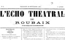 """Accéder à la page """"Écho théâtral de Roubaix (L')"""""""