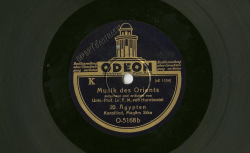 (6 disques, dont NC Odéon O4312 [20]-[21-22])