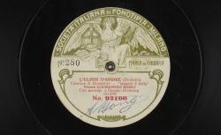 """L'Elisir d'amore. Cavatina di Nemerino : """"Quanto é balla"""" ; Gaetano Donizetti, comp. ; Alessandro Bonci, ténor ; acc. d'orchestre - source : gallica.bnf.fr / BnF"""