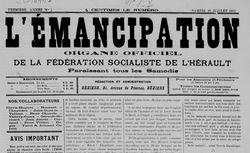 """Accéder à la page """"Émancipation (L'), Béziers"""""""