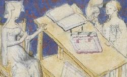 Figure de l'humanisme français: Christine de Pizan a rédigé des poèmes, des traités philosophiques, politiques, et militaires  Enseignementsmoraux_fr.12779