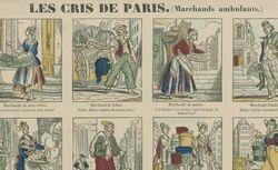 """Accéder à la page """"Les cris de Paris. Marchands ambulants : image d'Epinal"""""""