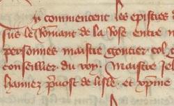 Figure de l'humanisme français: Christine de Pizan a rédigé des poèmes, des traités philosophiques, politiques, et militaires  Epistresdebatromandelarose_f.12779