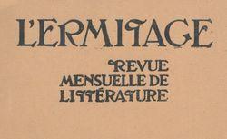 """Accéder à la page """"Ermitage (L')"""""""