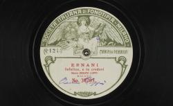 "Ernani : ""Infelice, e tu credevi"" ; Giuseppe Verdi, comp. ; Oreste Luppi, basse ; acc. au piano - source : gallica.bnf.fr / BnF"