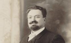 Léonce Antoine Escalaïs, photographie d'A. Schnell, Oran, 1900 source : gallica.bnf.fr / BnF