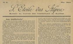"""Accéder à la page """"Etoile des Alpes (L')"""""""