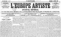 """Accéder à la page """"Europe-artiste (L')"""""""