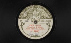Eva. Romanza di Gipsy / Franz Lehár, comp. ; Emma Vecla, soprano ; acc. d'orchestre - source : gallica.bnf.fr / BnF