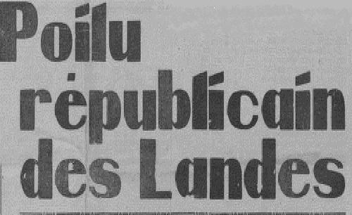 """Accéder à la page """"Poilu républicain des Landes (Le)"""""""