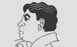 Portrait de Oswal de Andrade in Les Nouvelles littéraires, artistiques et scientifiques : hebdomadaire d'information, de critique et de bibliographie . Larousse (Paris), 1928-07-14