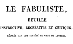 """Accéder à la page """"Fabuliste (Le) """""""