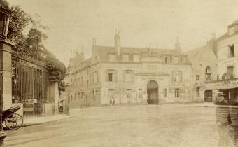 Hôpital de la Pitié, mai 1898.