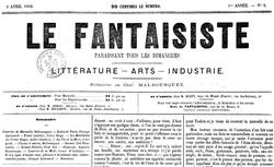 """Accéder à la page """"Fantaisiste (Le)"""""""