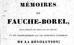 """Accéder à la page """"Fauche-Borel, Mémoires"""""""