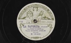 """La Favorita. Romanza di Fernando : """"Una vergine, un angiol di Dio"""" ; Donizetti, comp. ; Giuseppe Anselmi, T ; acc. de piano - source : gallica.bnf.fr / BnF"""