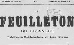 """Accéder à la page """"Feuilleton du dimanche (Le)"""""""