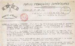 """Accéder à la page """"Forces françaises intérieures (communiqués). France d'abord (supplément)"""""""