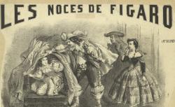 [Enregistrements sonores] / Les noces de Figaro : à M.me Delphine Ugalde : [estampe] / G.ve Donjean [sig.], 1858 - source : gallica.bnf.fr / BnF