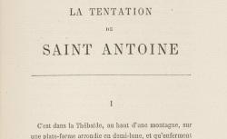 """Accéder à la page """"La Tentation de saint Antoine"""""""