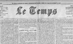 Les enregistrements de Victorien Sardou (Le Temps, 1er/12/1905). Chronique de Jules Claretie - source : gallica.bnf.fr / BnF