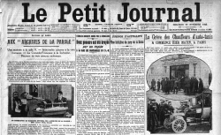 Le Petit Journal - Encart publicitaire pour les disques Odéon Fonotipia (29/11/1929) - source : gallica.bnf.fr / BnF