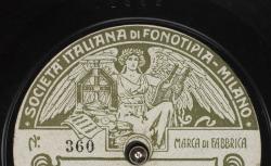 Disque Fonotipia - source : gallica.bnf.fr / BnF